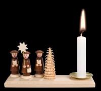 Vorschau: Weihnachtskerzenhalter von Nestler-Seiffen mit Kurrende _Bild2