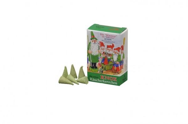 Räucherkerzen – Tanne, klein, 24 Stück von KNOX