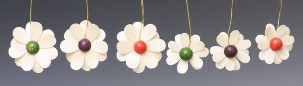 Baumbehang Blüten, 6-teilig, natur von Thomas Preißler