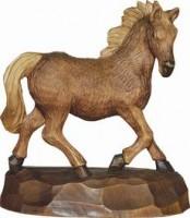 Vorschau: Pferd geschnitzt in verschiedenen Größen von Schnitzkunst aus dem Erzgebirge
