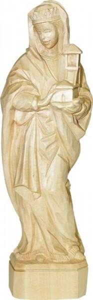 Heilige Barbara, natur, geschnitzt, in verschiedenen Größen von Schnitzkunst aus dem Erzgebirge_Bild1