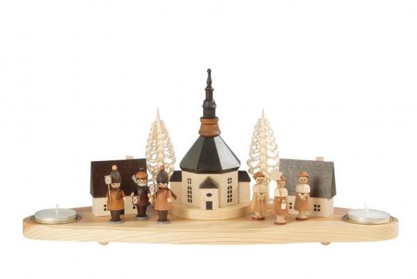 Knuth Neuber, Kerzenhalter Kirche,Laternenkinder, Kurrende, natur