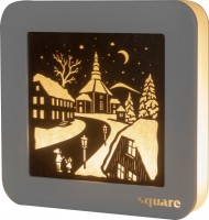 Vorschau: Weigla LED Wandbild Square Seiffen, 29 cm_Bild1