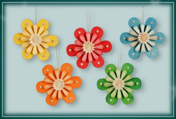 Frühlingsblüten zum hängen, 5 Stück von Martina Rudolph Seiffen/ Erzgebirge Machen Sie mehr aus Ihren Frühlingsstrauß können sie mit den schönen …