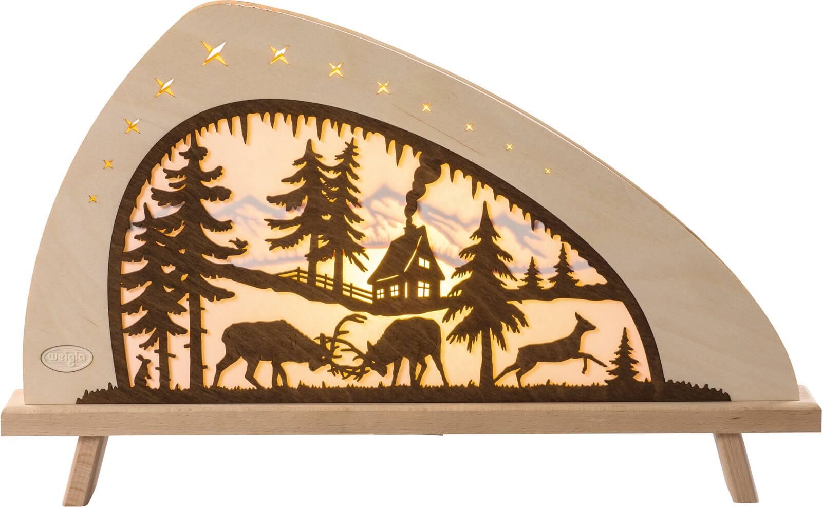 Weigla LED Standleuchte Rotwild, 52 cm