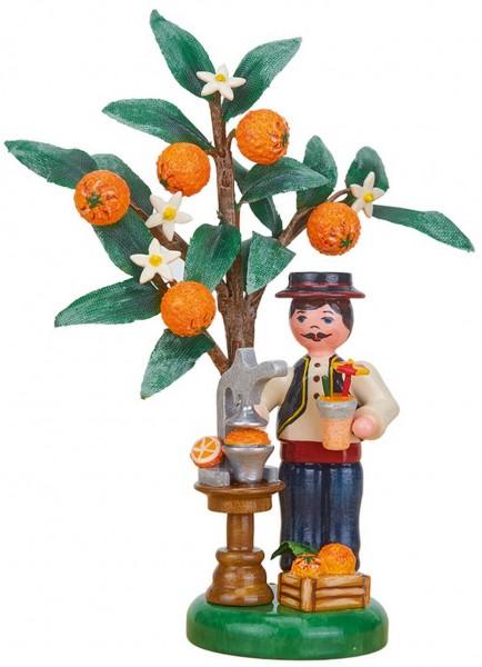 Hubrig Jahresfigur 2021 - Orange von Hubrig Volkskunst