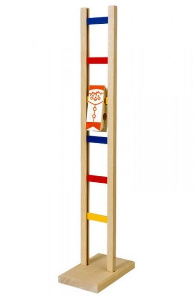 Das Leitermännchen ist ein faszinierendes Holzspielzeug und ein lustiges Bewegungsspiel. Das Männchen wird auf die oberste Sprosse aufgesetzt und klettert, …