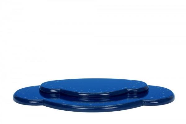 Wolke für Weihnachtsengel, blau, 2 - teilig, 29 cm von Christian Ulbricht GmbH & Co KG Seiffen/ Erzgebirge