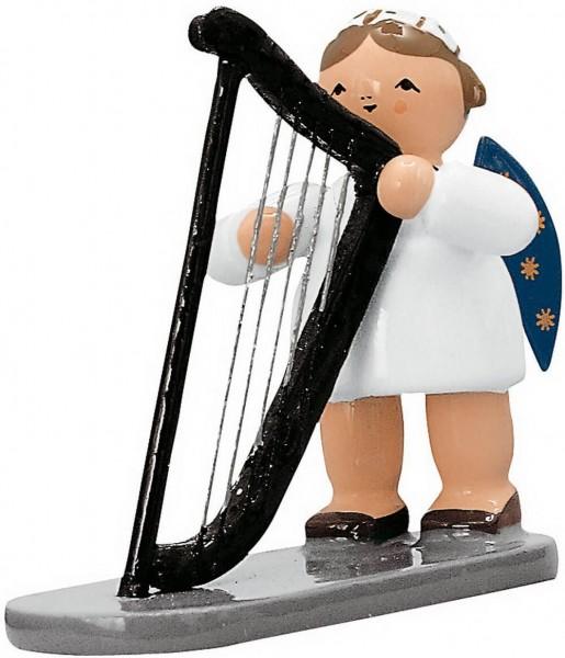 KWO Weihnachtsengel mit Harfe, 5 cm