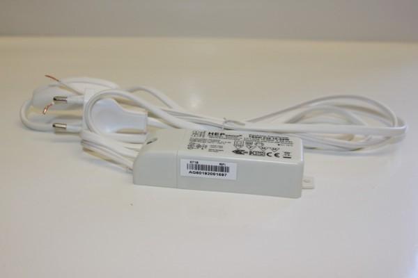 Schalterleitung mit eingebautem Trafo 1,5 m, Spannung 230 V ~ 11,8 V, max 60 Watt