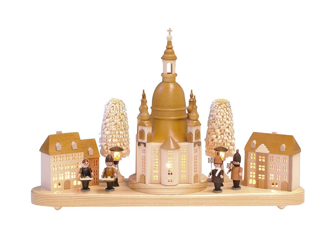 Knuth Neuber, Sockelbrett Frauenkirche mit Steigenberger Hotel_Bild1