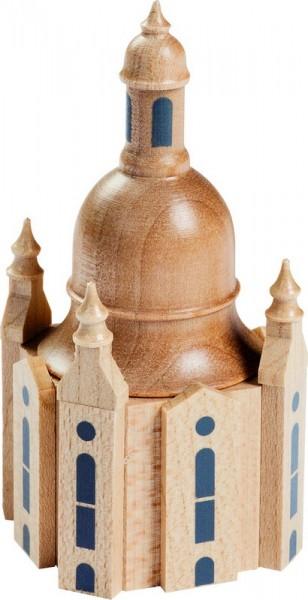 Frauenkirche, 9 cm, Richard Glässer GmbH Seiffen/ Erzgebirge