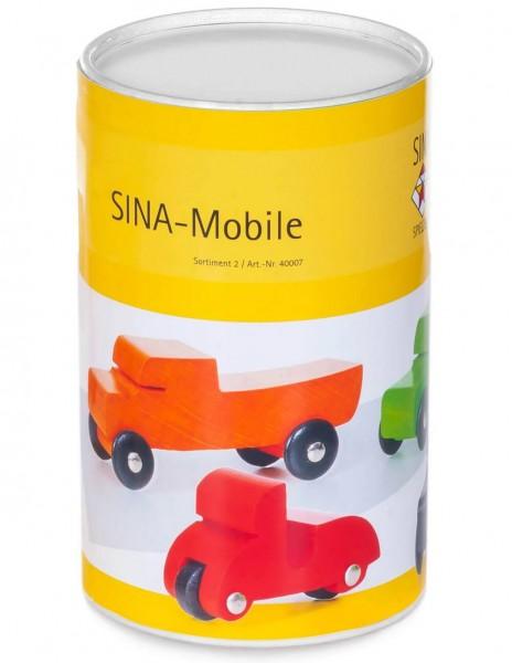 SINA-Mobile, Sortierung 2 von SINA Spielzeug Neuhausen/Erzgebirge, unterstützt beim Spiel die Phantasie Ihres Kindes. 5 verschiedene SINA-Mobile aus …