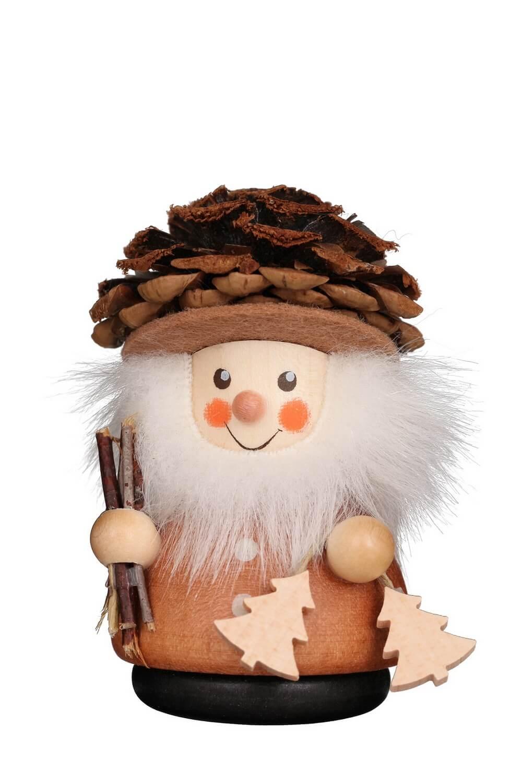 Wackelmännchen Zapfenmännchen, natur von Christian Ulbricht GmbH & Co KG Seiffen/ Erzgebirge ist 8 cm groß. Mit seinem Zapfenhut, der ihn vor Wind und …
