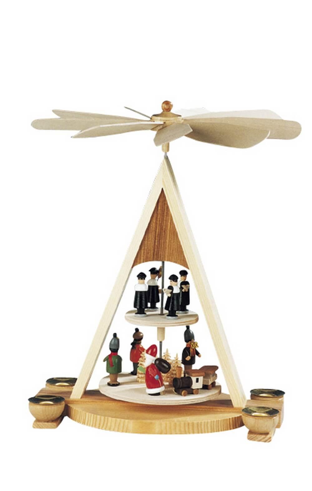 Knuth Neuber, Weihnachtspyramide Bescherung, Laternenkinder