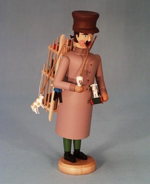 Räuchermännchen Spielzeughändler, 21 cm von Räuchermann Manufaktur Merten aus Seiffen/ Erzgebirge.Höhe: ca. 21 cmMaterial: heimische Hölzer aus dem …