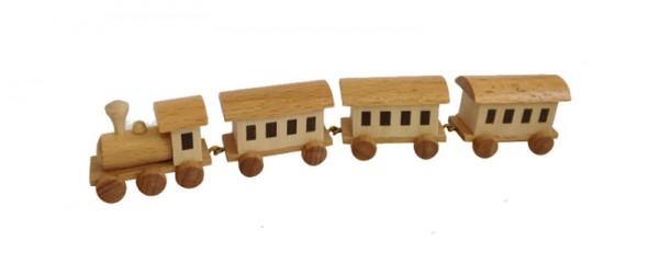 Die Lok gibt den Antrieb und transportiert drei Wagons durchs Kinderzimmer. Der Lieblingswagon ist an der falschen Stelle? Kein Problem! Durch die …
