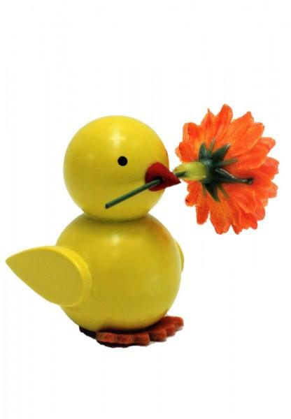 Küken Nestler-Seiffen mit Blume von_Bild1