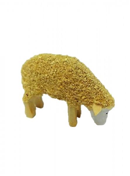 Dekoelement Schaf, fressend 3 cm von Nestler-Seiffen