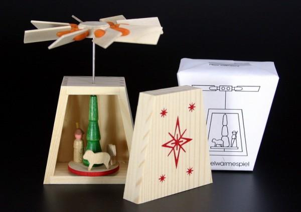 Logikspiel Bastelwärmespiel von Gunter Flath aus Seiffen / Erzgebirge Bauen Sie mit diesem Bastelwärmeset Ihre eigene Miniatur Wandpyramide. Dies fördert die …