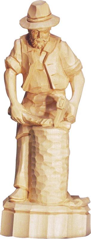 Holzhacker, geschnitzt von Schnitzkunst aus dem Erzgebirge_Bild2
