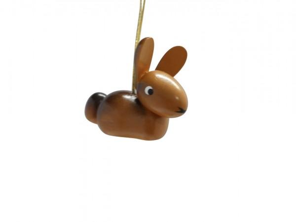 Frühlingsdeko Hase zum hängen, 5 Stück, 3 cm von Nestler-Seiffen aus Seiffen/ Erzgebirge