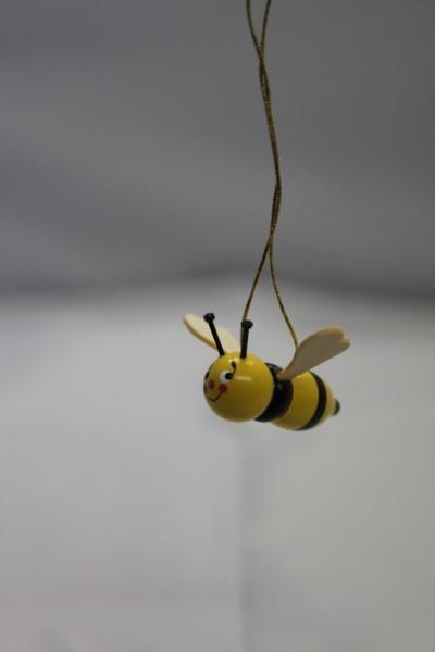 Bienen zum hängen, 5 Stück von Nestler-Seiffen