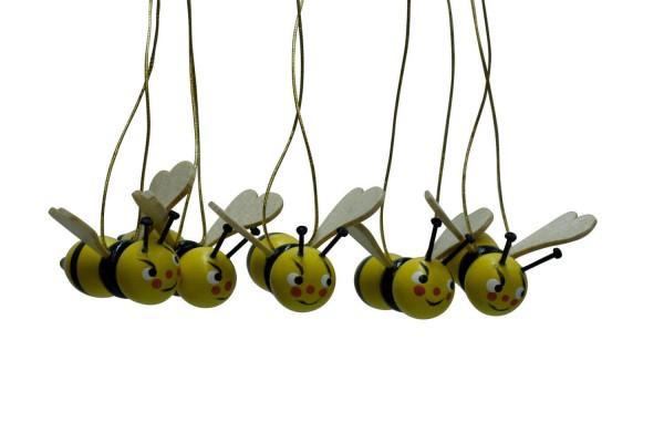 Bienen zum Hängen, 5 Stück von Nestler-Seiffen_Bild2