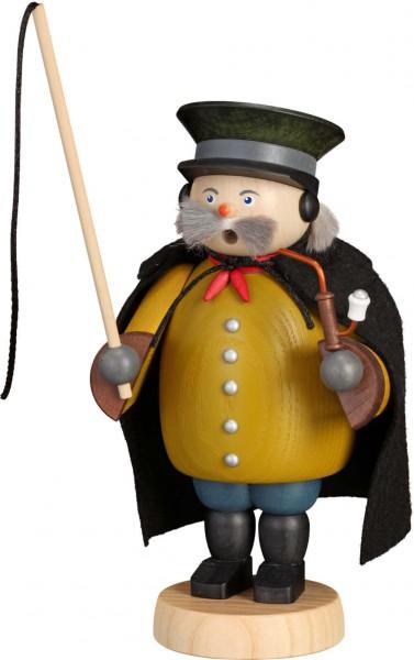 Der Räuchermann Kutscher, 20 cm von der Seiffener Volkskunst eG. Der Räuchermann , auch Räuchermännchen , oder auf erzgebirgisch auch Raachermannel genannt, …