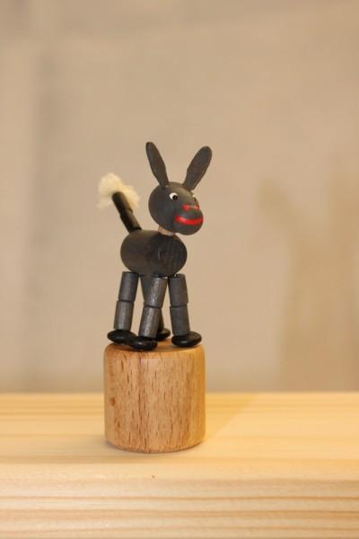 Wackelfigur Esel von Nestler-Seiffen